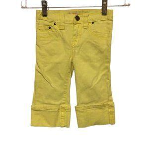 Joe Fresh yellow pants 3T
